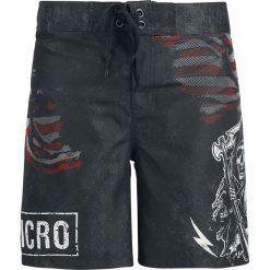 Sons Of Anarchy Samcro - USA Flag Kąpielówki czarny. Czarne kąpielówki męskie marki Black Premium by EMP. Za 144,90 zł.