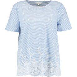 Bluzki asymetryczne: Cortefiel Bluzka light blue