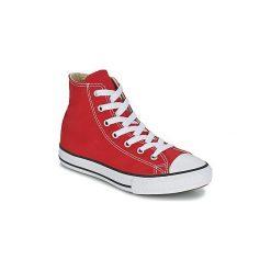 Buty Dziecko Converse  CHUCK TAYLOR ALL STAR CORE HI. Czerwone trampki chłopięce Converse, retro. Za 219,00 zł.