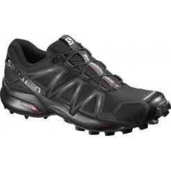 Salomon Buty Do Biegania Speedcross 4 W Black/Black/Black Meta 38.0. Czarne buty do biegania damskie Salomon. Za 449,00 zł.