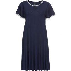 Sukienki: Sukienka bonprix ciemnoniebiesko-biały