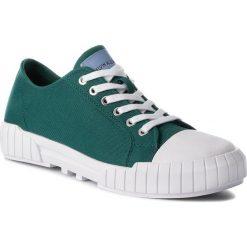 Trampki CALVIN KLEIN JEANS - Beato S1748  Bottle Green. Zielone trampki męskie marki Calvin Klein Jeans, z gumy. Za 519,00 zł.