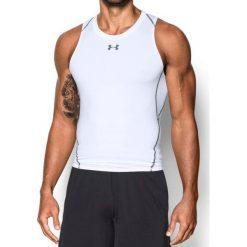 Under Armour Koszulka męska HG COMP TANK biała r. XXL (1271335-100). Białe koszulki sportowe męskie marki Under Armour, m. Za 102,36 zł.