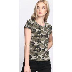 T-shirty damskie: Zielony-Moro T-shirt Army Girl