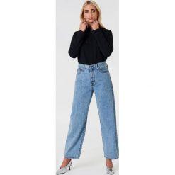 Bluzy rozpinane damskie: NA-KD Trend Bluza z suwakiem - Black