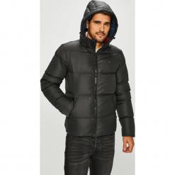 Tommy Jeans - Kurtka puchowa. Czarne kurtki męskie bomber Tommy Jeans, l, z jeansu. Za 799,90 zł.