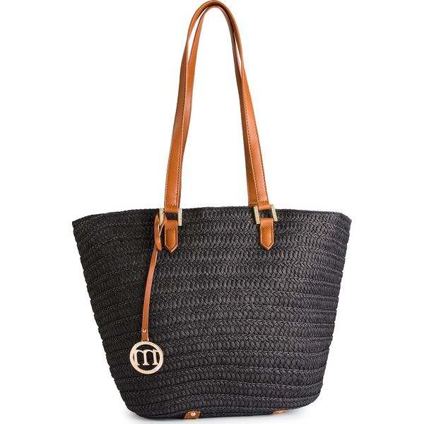 c61ee2a9a1a73 Torebka MONNARI - BAG0520-020 Black - Czarne torebki klasyczne damskie  Monnari