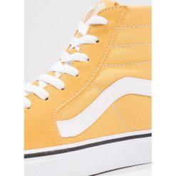 Vans SK8HI Tenisówki i Trampki wysokie ochre/true white. Żółte tenisówki męskie Vans, z materiału. Za 379,00 zł.