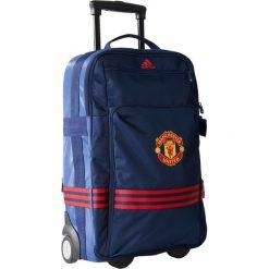 Torby podróżne: Adidas Torba Manchester United FC Trolley niebieska (AC5627)