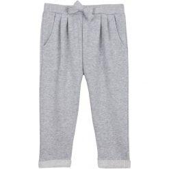 Spodnie dresowe dziewczęce: Spodnie dresowe ze srebrną nitką dla niemowlaka