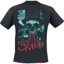 T-shirty męskie: Alice Cooper Skull Eyes T-Shirt czarny