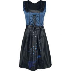 Black Premium by EMP Hedi's Dirndl Sukienka czarny/niebieski. Czarne sukienki balowe marki Black Premium by EMP, xl, z poliesteru. Za 194,90 zł.