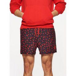 Odzież chłopięca: Szorty kąpielowe – Czerwony