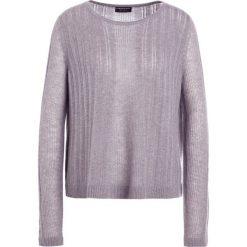 Swetry klasyczne damskie: Repeat LOCHMUSTER Sweter light grey