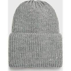 Medicine - Czapka Basic. Szare czapki zimowe damskie MEDICINE, na zimę, z dzianiny. Za 39,90 zł.