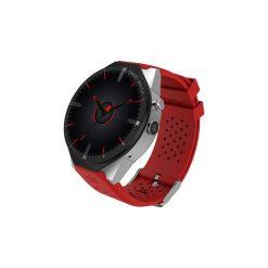 Kingwear Zegarek Smartwatch KW88 Pro iOS Android. Czarne zegarki męskie Kingwear, srebrne. Za 479,90 zł.