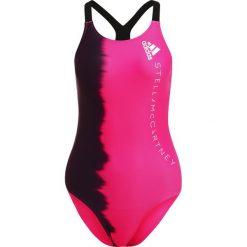 Stroje jednoczęściowe: adidas by Stella McCartney SWIM TRAIN Kostium kąpielowy pink