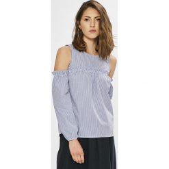 Haily's - Bluzka. Szare bluzki asymetryczne Haily's, l, z bawełny, z okrągłym kołnierzem. W wyprzedaży za 49,90 zł.