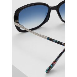 Marc Jacobs Okulary przeciwsłoneczne black/blue. Czarne okulary przeciwsłoneczne damskie aviatory Marc Jacobs. Za 569,00 zł.