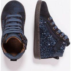 Bisgaard Tenisówki i Trampki wysokie blue glitter. Niebieskie buty sportowe dziewczęce Bisgaard, z materiału. Za 399,00 zł.