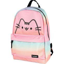 Pusheen Plecak wielokolorowy. Różowe plecaki męskie Pusheen, z nadrukiem. Za 99,90 zł.