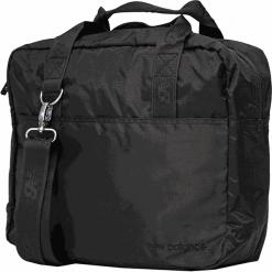 New Balance 500334-000. Czarne torby na laptopa New Balance, w paski, z materiału. Za 199,99 zł.