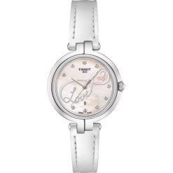 PROMOCJA ZEGAREK TISSOT FLAMINGO VALENTINE'S DAY T094.210.16.111.01. Czerwone zegarki damskie TISSOT, ze stali. W wyprzedaży za 1012,00 zł.