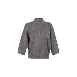 Swetry Vila  VIYONNA. Szare swetry klasyczne damskie marki Vila, l, z dzianiny, z okrągłym kołnierzem. Za 175,20 zł.