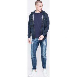 Tokyo Laundry - Bluza. Szare bluzy męskie rozpinane marki Tokyo Laundry, l, z nadrukiem, z bawełny, z kapturem. W wyprzedaży za 59,90 zł.
