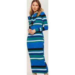 Sukienka w paski - Wielobarwn. Szare sukienki marki House, l, w paski. Za 99,99 zł.