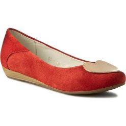 Baleriny SERGIO BARDI - Nadine FS127231117DP 108. Czerwone baleriny damskie zamszowe marki Sergio Bardi. W wyprzedaży za 149,00 zł.