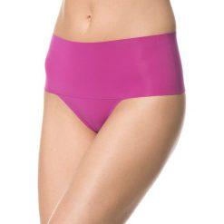 Majtki damskie: Stringi modelujące w kolorze różowym