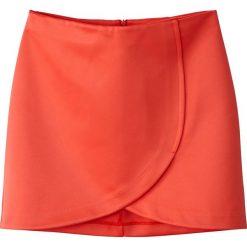 Minispódniczki: Spódnica portfelowa satynowa