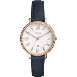 Fossil - Zegarek ES4291. Różowe zegarki damskie marki Fossil, szklane. Za 699,90 zł.