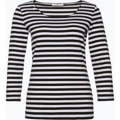BOSS - Koszulka damska – E4513, czarny. Czarne t-shirty damskie Boss, l, w paski, z bawełny. Za 349,95 zł.