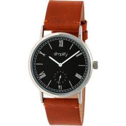 """Zegarki męskie: Zegarek kwarcowy """"the 5100"""" w kolorze brązowo-srebrno-czarnym"""