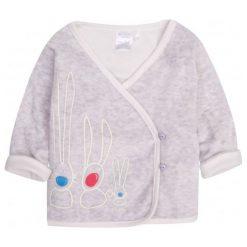 Bluzy dziewczęce rozpinane: Welurowa bluza dla dziecka 0-3 lata