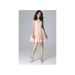 Sukienka L006 Róż. Czerwone sukienki hiszpanki Lenitif, l, bez rękawów, dopasowane. Za 179,00 zł.