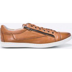 Gino Rossi - Buty. Czarne buty sportowe męskie marki Gino Rossi, z gumy, ze sznurowanym dekoltem. W wyprzedaży za 269,90 zł.