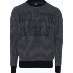 North Sails - Sweter męski, niebieski. Niebieskie swetry klasyczne męskie North Sails, l, z nadrukiem. Za 499,95 zł.