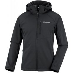 Columbia Kurtka Męska Cascade Ridge Ii Softshell Black Xl. Czarne kurtki sportowe męskie Columbia, m, z softshellu. Za 405,00 zł.