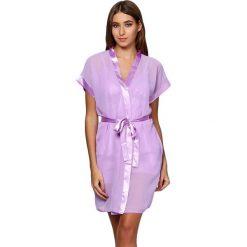 Szlafroki kimona damskie: Szlafrok w kolorze fioletowym