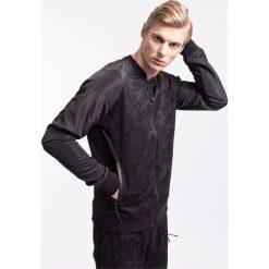 Bluzy męskie: Bluza męska BLM206Z – czarny – 4F