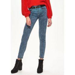 Jegginsy - Niebieski. Niebieskie legginsy Sinsay, z jeansu. Za 49,99 zł.