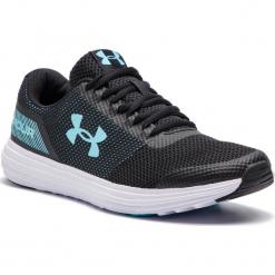 Buty UNDER ARMOUR - Ua W Surge 3020368-001 Blk. Czarne buty do biegania męskie marki Under Armour, z materiału. W wyprzedaży za 169,00 zł.