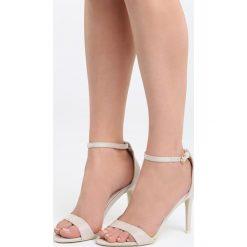 Rzymianki damskie: Beżowe Sandały You're Adorable