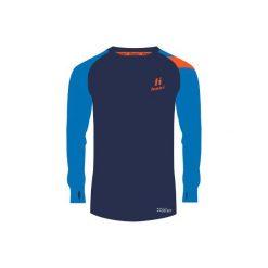 Bejsbolówki męskie: Huari Bluza męska Naro Longsleeve Medieval Blue/French Blue/Red Orange r. M