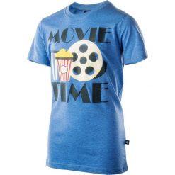 T-shirty chłopięce: Koszulka MOVIE JR BLUE 164