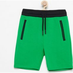 Dresy chłopięce: Krótkie spodenki dresowe - Zielony