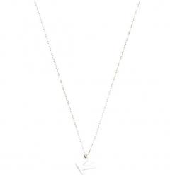 Srebrny naszyjnik - (D)39 cm. Żółte naszyjniki damskie marki METROPOLITAN, pozłacane. W wyprzedaży za 72,95 zł.